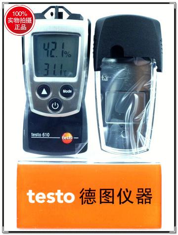 德国tseto 610迷你温湿度仪