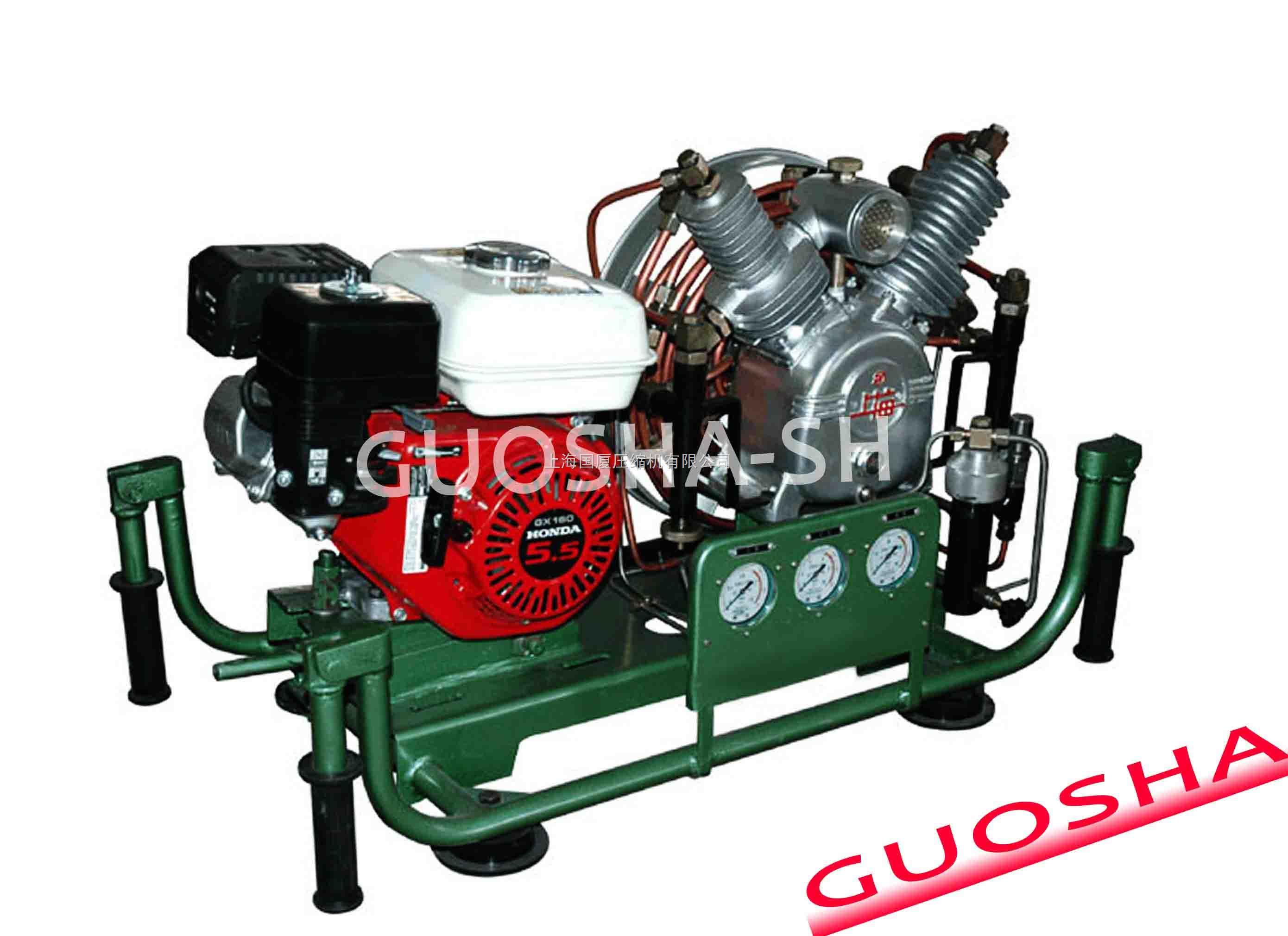 CNG压缩天然气气瓶压力试验检测空气压缩机