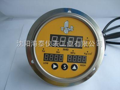 進口電接點壓力表,進口數顯電接點壓力表