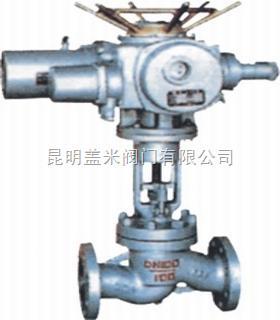 电动截止阀J941H-电动阀门-盖米电动截止阀-昆明盖米阀门