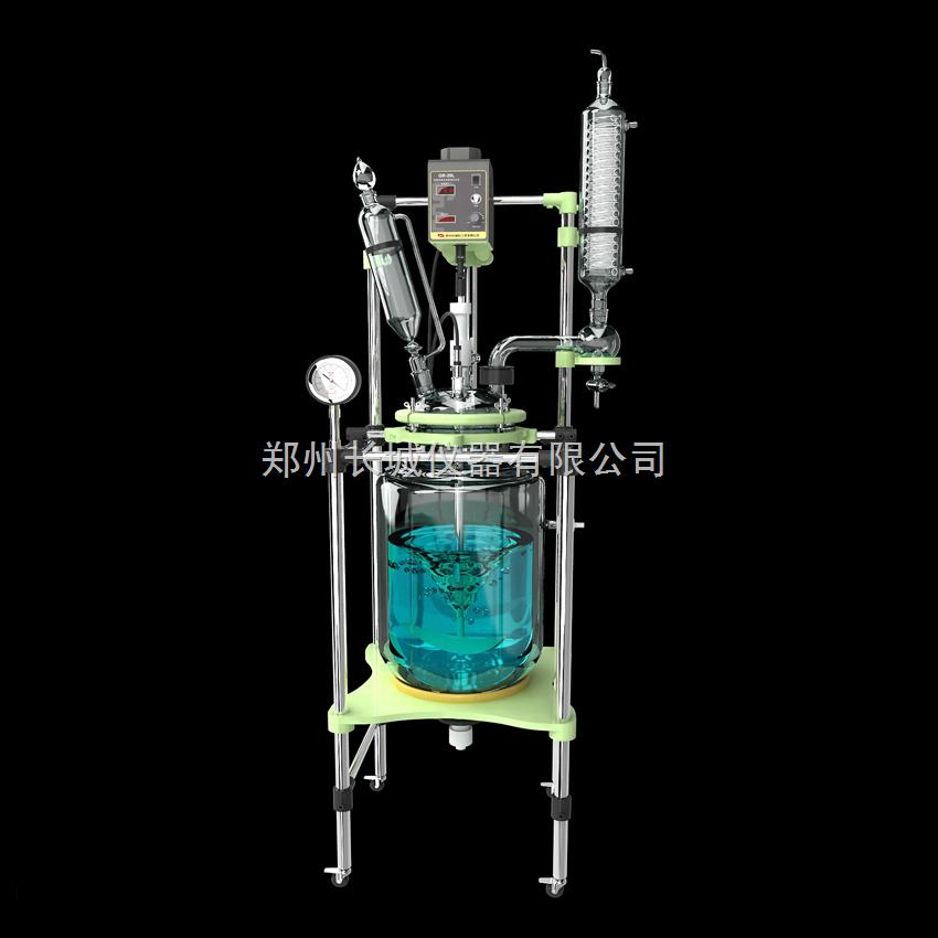 GR-50L变频调速双层玻璃反应釜