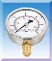 耐震双刻度压力表|压力表刻度单位|双刻度压力表选型