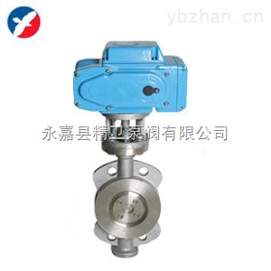 供应温州D973H电动三偏心对夹蝶阀生产厂家