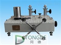 標準活塞壓力計/活塞式壓力計型號:TD-HN0.6,6,25,60,100,160,250