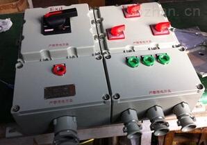 河南BXMD-6/t防爆檢修動力配電箱 BXX51/52-2/100D
