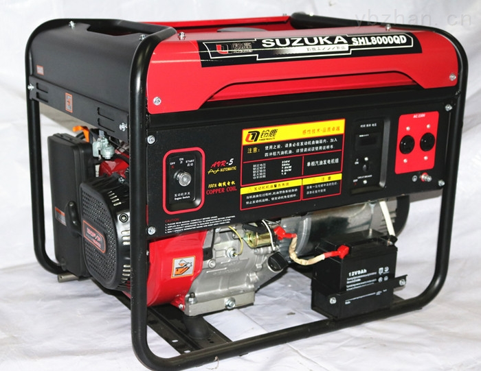 7000W单相汽油发电机