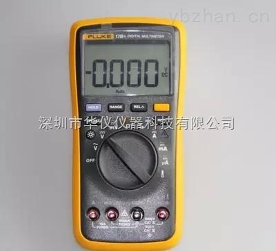 正品福禄克Fluke17B+数字万用表F17B+温度/频率/占空比测量