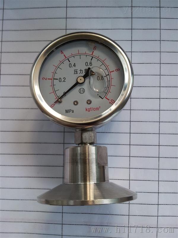 安徽威格weinstr仪表卫生型隔膜压力表
