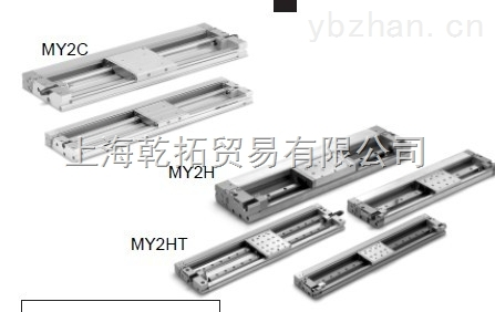 全新日本SMC超薄型機械接合式無桿氣缸