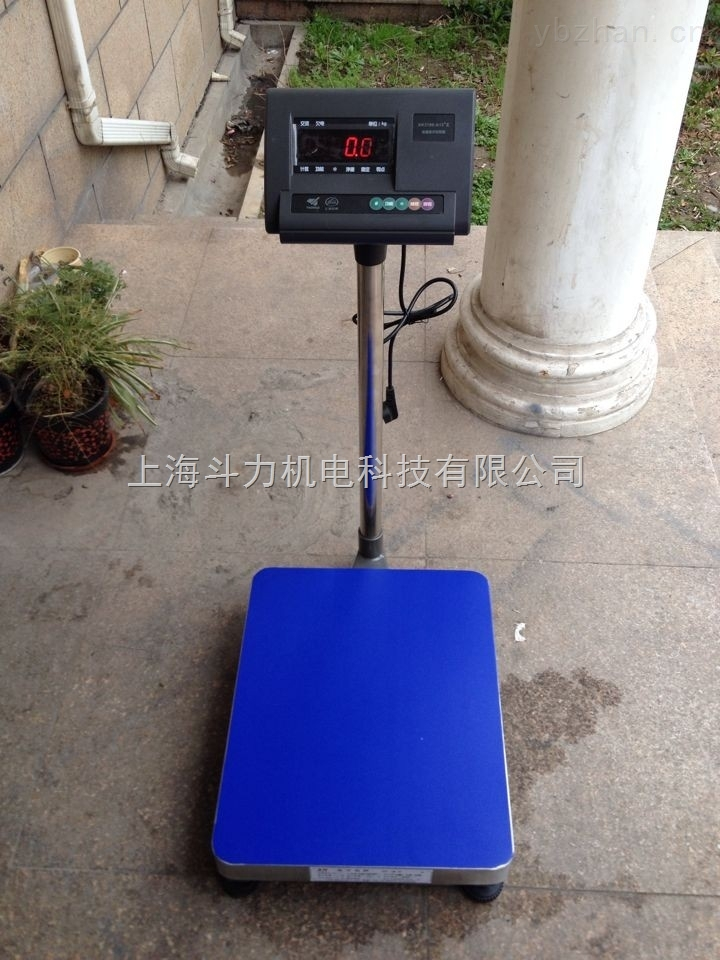 電子臺秤-douli-500公斤電子工業臺秤專業定制生產