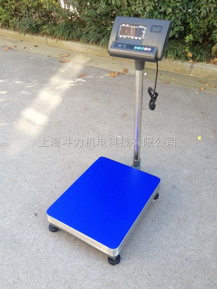DL-TCS-智能不銹鋼電子臺秤100kg廠家直銷