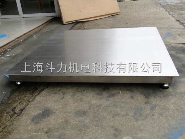 1吨电子平台秤带打印可控制开关定量