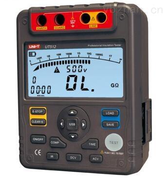 UT512绝缘电阻测试仪 兆欧表