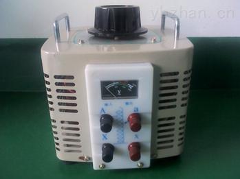 上海TDGC2J-6KVA单相接触式调压器生产厂家
