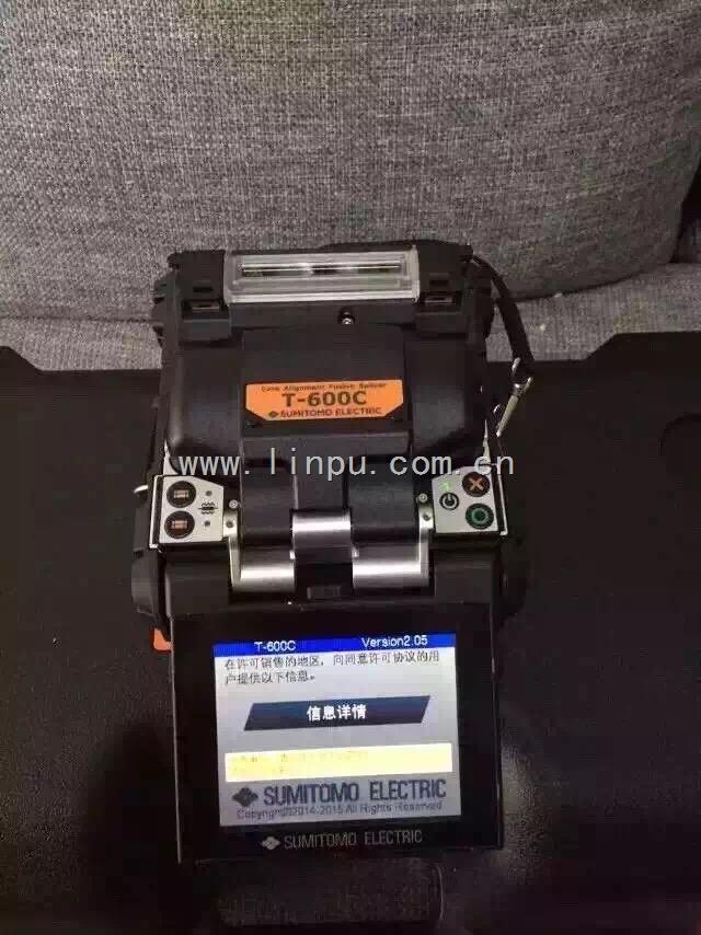 T-600C最新型高性价比纤芯对准住友光纤熔接机