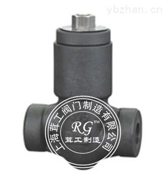 锻钢自密封止回阀 -结构尺寸图 -上海茸工阀门制造有限公司