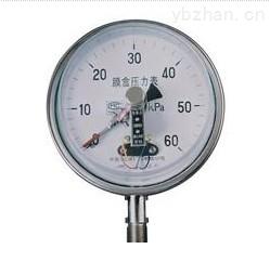 YEX-150系列膜盒电接点压力表