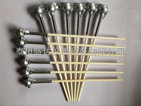 K型热电偶装配式0-1300 ℃钢玉管使用时间长