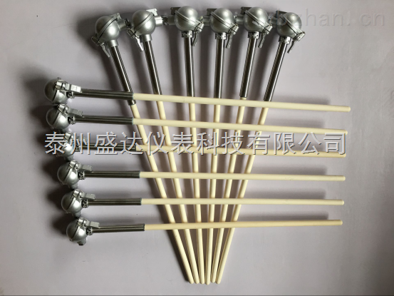 K型装配式0-1300℃热电偶陶瓷保护管WRN-122