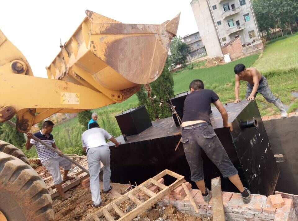 大連一體化生活污水處理設備方案