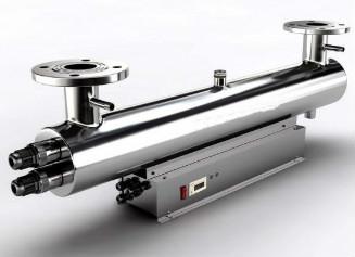 紫外线消毒器的选型要根据水的性质和处理水量确定