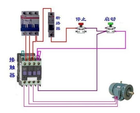 施耐德lc1-d40交流接触器接线图