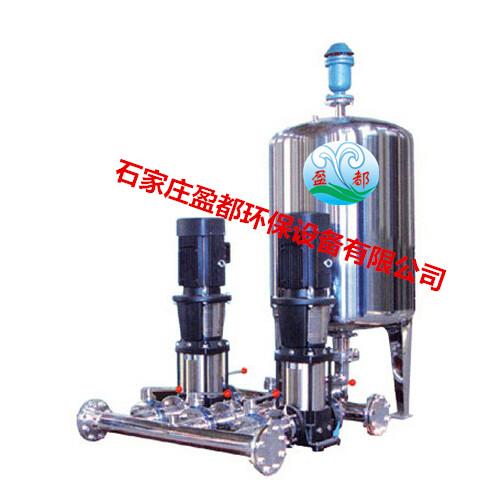 定压补水机组设备优势: ·节约用地 普通落地式膨胀水箱的