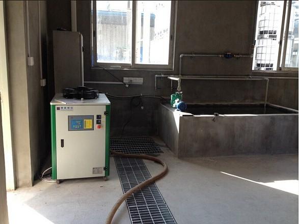 给循环水池降温,制冷,冷却用的低温冷水机