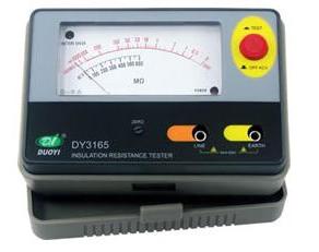 便携式数字式绝缘电阻表DY30-5(15~100V)_电上海百成图片