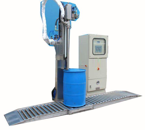 200升自动称重灌装机 灌装机上海广志销售