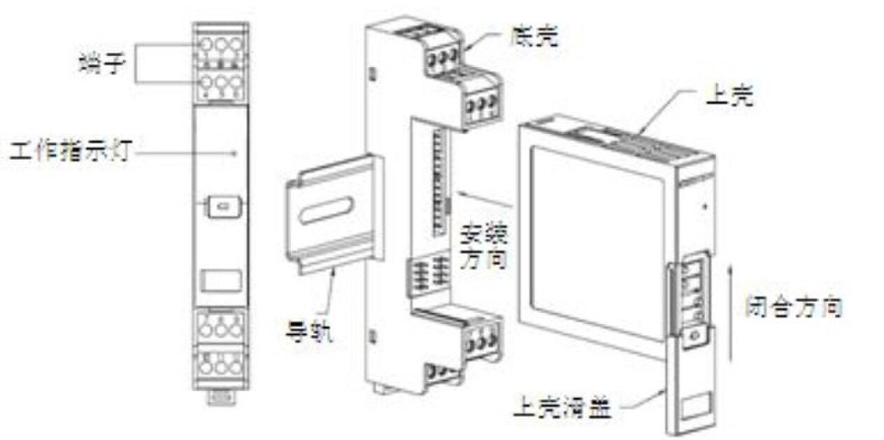 昌辰 模拟信号热电偶隔离器